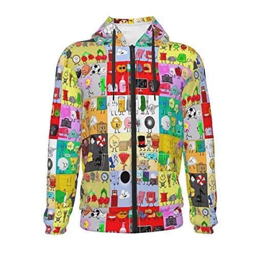 Arcicl Kids Hoodie Bfdi-BFB Youth Zip Hooded Sweatshirts, Pullover Hoodies for Boys Girls 10-12 Years Black