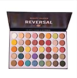Beauty Glazed 40 Color Reversal Planet Eyeshadow Pallete Eye Makeup Waterproof Mineral Shiny Powder Shimmer Highlighter Smoky Eye Shadow Make up Palette Cosmetic tools