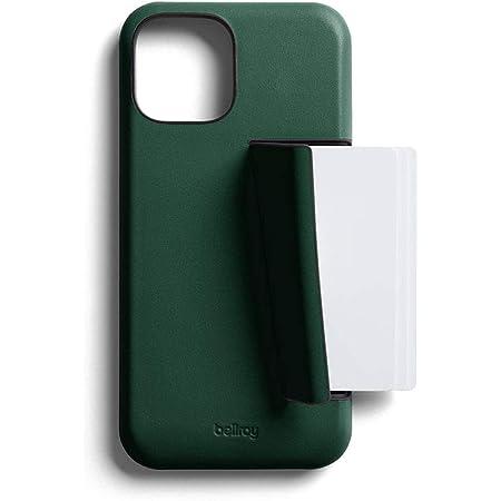Bellroy Funda de Piel Slim Premium con Tarjetero para el iPhone 12-3 Tarjetas - Racing Green