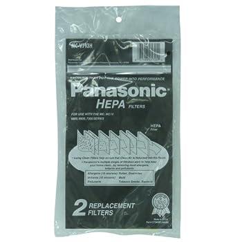 Panasonic Hepa Type V6800/ V6900/V7300 Series Filter  Pack of 2