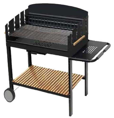 Barbecue en acier à bois et à charbon Apollo 60