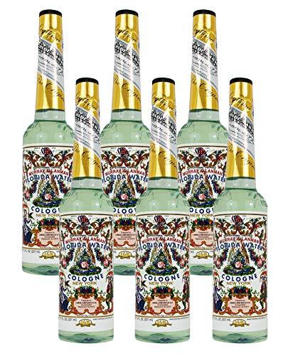 Seis (6) Botellas De Plástico - Colonia Agua De Florida 221,8 Ml