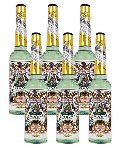Florida Water Cologne 7.5oz - Agua Florida Colonia (Pack of 1)