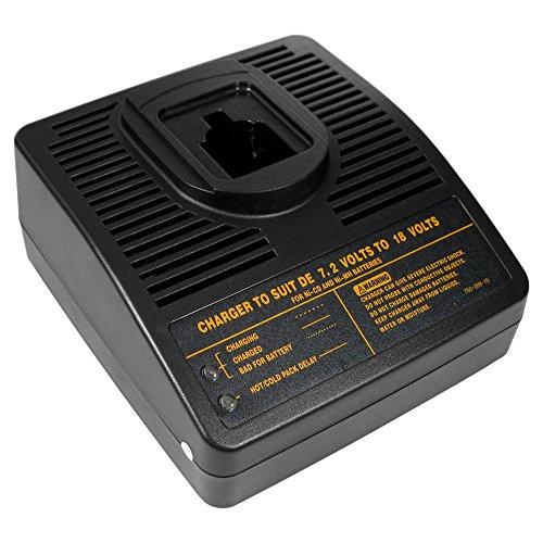 Cargador de batería para herramientas de 7,2 V-18 V para baterías Ni-MH Ni-Cd 7,2 V 12 V 14,4 V 18 V sustituye a Dewalt DE9116 DW9116 DE9103 DE9108 DE9117 DE9130 DE9135
