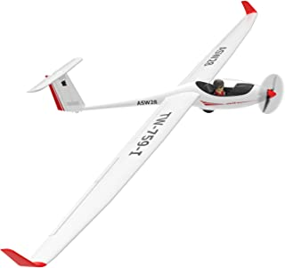 VOLANTEXRC RC Glider Airplane ASW28 Electric RC Sailplane 2.6m Wingspan & Plastic Unibody Fuselage Brushless PNP Version with Power Brushless Motor NO Radio NO Battery (759-1 PNP)