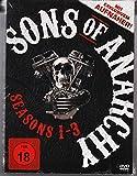 Sons of Anarchy - Staffel 1 - 3 (2013) '' rare deutsche FSK 18 ''mit Aufnäher