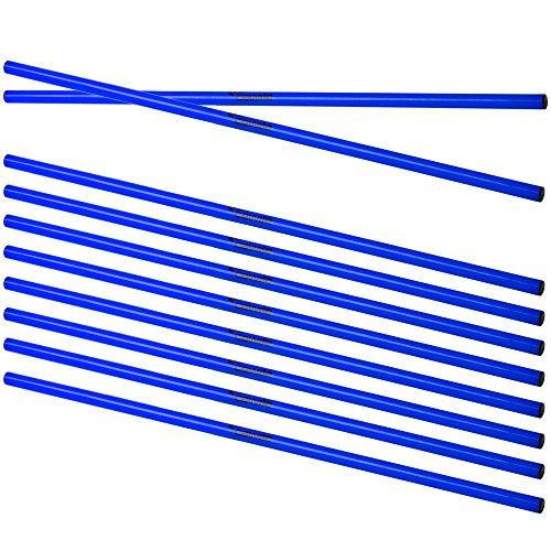 Cawila Trainingsstangen 10x, 100 cm, 00930051