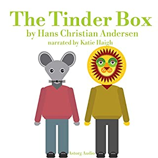 The Tinder Box, a fairy tale for kids cover art