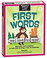 [マグネティックポエトリー]Magnetic Poetry Kids First Words Kit Ages 4 and Up Words for Refrigerator Write Poems and [並行輸入品]