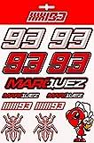 Marc Marquez Pegatinas MM93 Grandes