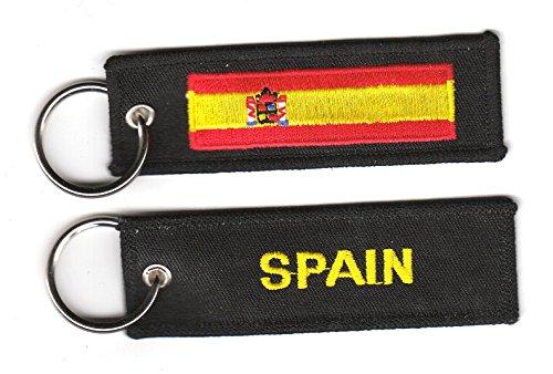 Schlüsselanhänger Spanien Anhänger Fahne Flagge NEU