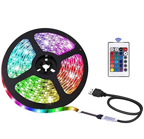 Luzes de LED USB com Controle Remoto e 5050 RGB