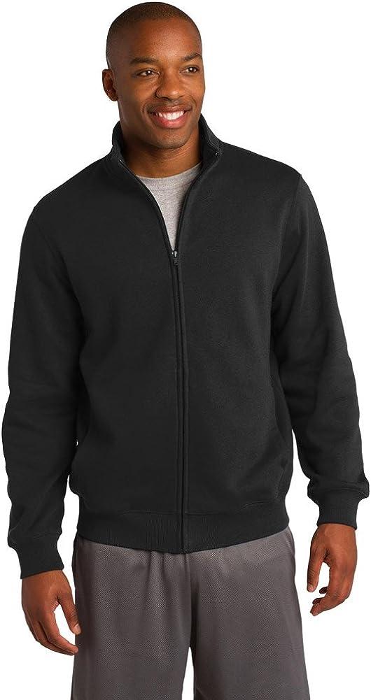 Sport-Tek Mens Tall Full-Zip Sweatshirt