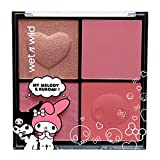 wet n wild My Melody + Kuromi Blush Palette, 0.71 Ounce