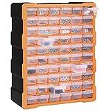 festnight mobile contenitore cassettiera box porta minuteria per officina con 39/60 cassetti multiuso 38x16x47 cm/38x16x47,5 cm -disponibile in tanti colori diversi