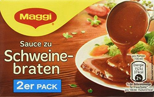 Maggi Delikatess Doppelpack Soße Schweinebraten, 18er Pack (18 x 500 ml)