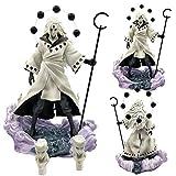 Rqcaxn Figuritas Decorativas Anime Gk Uchiha Madara Figuras de acción Modelo de Juguetes Aproximadam...