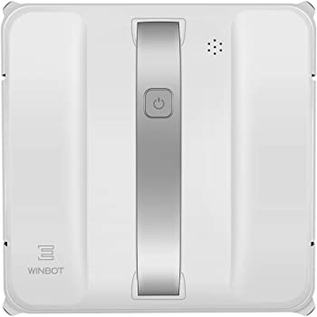 Ecovacs Winbot 880 Window Cleaning Robot with Smart Navigation Technology, Four-Stage Cleaning, Edge Detection, Multiple Safety System, Remote Control