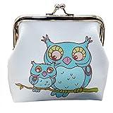 Daliuing Lovely Owl/Elephant Portemonnaie für Geschenke, Carino Creativo Mini Pack für Studenten C 12cm*11cm