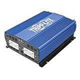 Tripp Lite 3000W Power Inverter, Heavy-Duty Power Inverter with 4 AC 2 USB Outlets, 2.0A Battery Cables (Pinv3000)