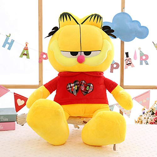 Pluche Garfield Ragdoll Knuffel Doll Loving Cat Pillow-Red_110cm