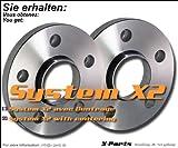 Separadores TA, de 30 mm, 5 x 100