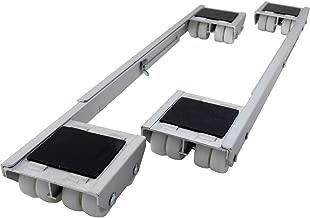 Shepherd Hardware 9603 Adjustable Aluminum Appliance Rollers, 2-Pack
