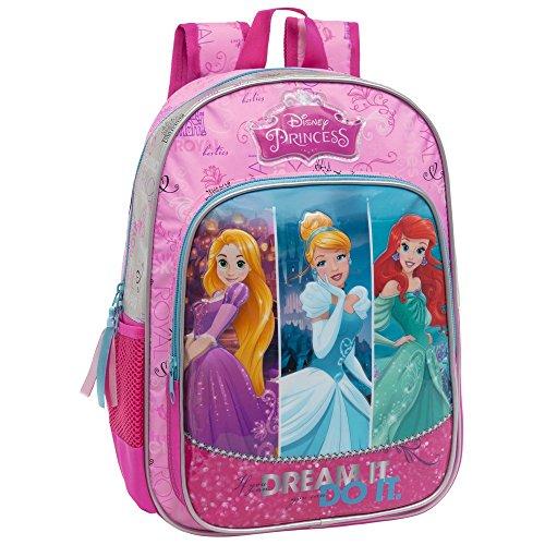 Disney Princess Set de Sac Scolaire, 38 cm, Rose 25423A1
