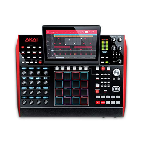 Akai Professional MPC X | Fully Standalone MPC With 10.1-Inch Multi-Touch Display, 16GB On-Board Storage, 8 Configurable CV/Gate Outputs, Full Control Arsenal and 10GB Sound Library Included