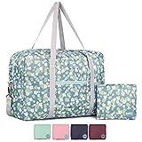 WANDF Foldable Travel Duffel Bag Sac de Voyage Pliable Sac de Sport Gym Résistant à...