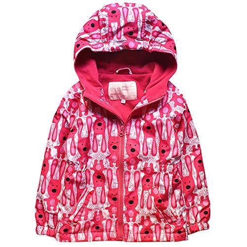 Liny Waterdichte jas voor kinderen, winter, softshell, meisjes, jack met capuchon, fleece, bedrukt, sportjas, winddicht, hoodie, kleding, herfst, kamperen, wandelen, reizen, activiteit, warm
