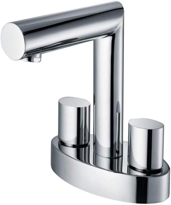 Taps Kitchen Sinktaps Mixer Swivel Faucet Sink Cool and Hot Double-Facing Basin, Mixed Faucet