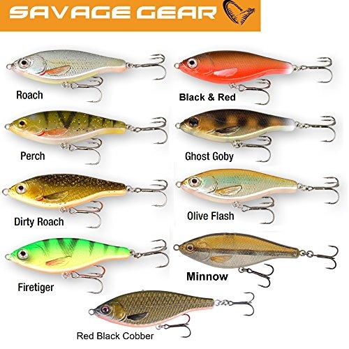 Savage Gear 3D Roach Jerkster 115, Farbe Firetig, Größe 37.0GR