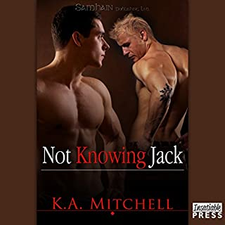 Not Knowing Jack audiobook cover art