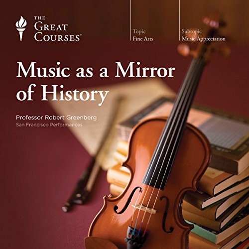 Music as a Mirror of History audiobook cover art