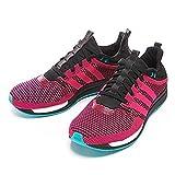adidas - AQ5003 Adizero Feather W - Zapatillas deportivas para mujer, color negro y rosa, talla, color Multicolor, talla 36 2/3 EU Schmal