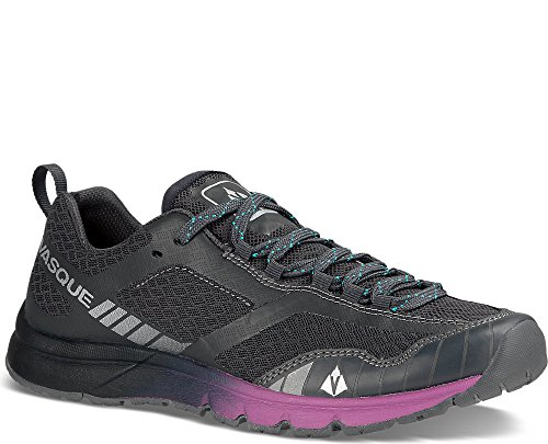 Vasque Women's Vertical Velocity Running Shoes Ebony/White 7.5 M