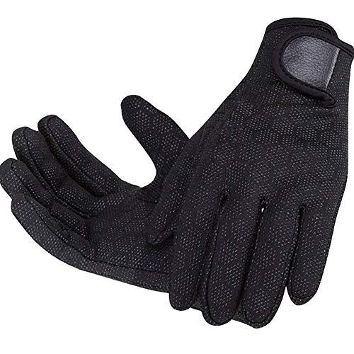 LIBINFAN Schwimmen Tauchhandschuhe Kratzfest Rutschfeste Partikel Schnorcheln Warme Handschuhe Outdoor Handschuhe