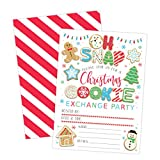 Cookie Exchange Christmas Party Invitation, Holiday Party Invite, Christmas Party, Holiday Party...