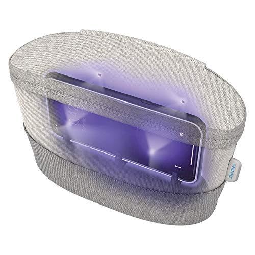 HoMedics ESTERILIZADOR portátil con desifección rayos UV, Elimina hasta el 99.9 por ciento de bacterias y virus, Libre de mercurio y productos químicos