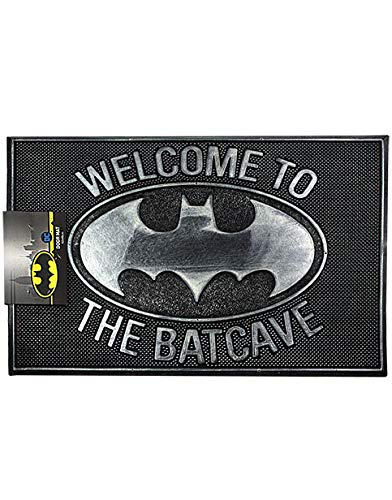 Felpudo de Batman de DC Comics Enter The Batcave Tapete de bienvenida a casa