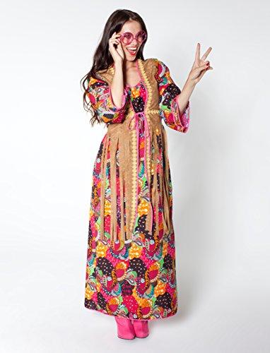 Damen Hippie-Kleid lang (36)