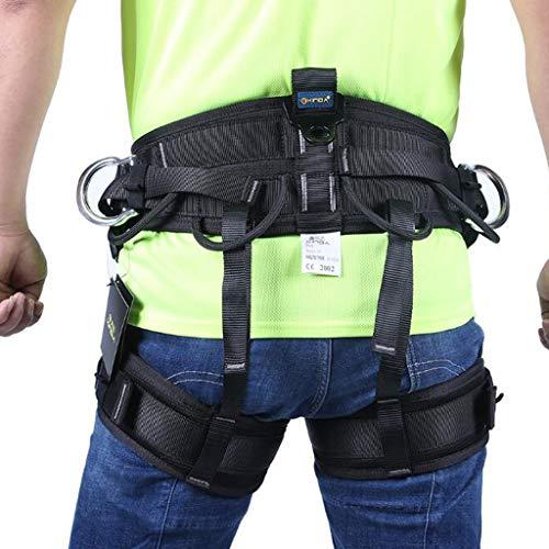 ZY Arnés para Escalada Al Aire Libre, Cinturón De Seguridad ...