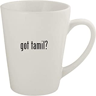 got tamil? - Ceramic 12oz Latte Coffee Mug