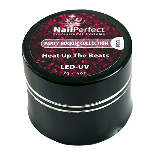 Nail Perfect - NP Gl. LED Gel #002 Heat Up The Beats - Party Rockin' Collection Gel U. V / LED Couleur