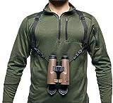 Bushnell Correa para prismáticos, arnés, Soporte – Permite Llevar cómodamente