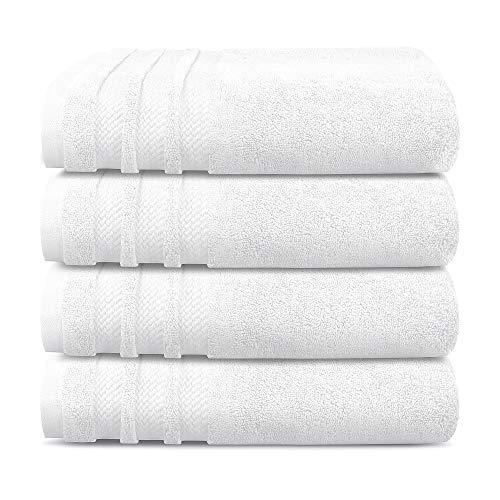 Trident Luxury Hotel Collection, Extra Grande, 100% algodón, sin torsión, Super Suave, Extra...