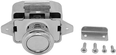 FTVOGUE 3 stuks knop ladekast deurvergrendeling knop ideaal voor caravans, campers, kasten, jachten, auto's, ziekenwagens,...