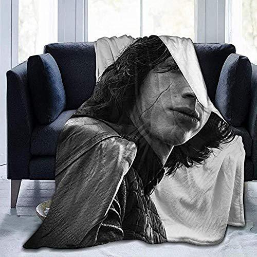 HUAJIE Fleece Throw Blanket Ad-Am Dr-Iv-Er Flanell Fleece Decke Ultraweiche Warme Gemütliche Plüschbett Leichte Sofaüberwürfe Für Couch Bed Sofa