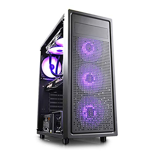 XZ15 Mid-Tower, game computer case, ITX/E-ATX, 6x120mm krachtige warmteafvoer, ondersteuning 360mm waterkoeling, verbeterde game pc case, gehard glas display component